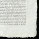DÉTAILS  04   Révolution Française - Journal de Paris - Vendredi 17 Juillet 1789   Portrait du chanteur Simon Chenard en costume de sans-culotte (Louis Léopold Boilly)