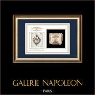 Assegnato da 15 sols - Rivoluzione Francese - 1792 | Creazione della Bandiera Tricolore | Assegnato da 15 sols dell'anno 1792 (An 1 de la République)