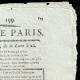 DÉTAILS  02   Révolution Française - Journal de Paris - Samedi 18 Juillet 1789   La Prise de la Bastille - Arrestation de M. de Launay (Jean Dubois)