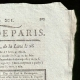 DETAILS  02 | French Revolution - Journal de Paris - Monday, July 20, 1789 | Declaration of the Rights of Man and of the Citizen (1789)