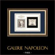 Assignat de 15 sols - Revolução Francesa - 1792 | Retrato de Gaspard Monge (1746-1818) | Assignat de 15 sols do ano 1792 (An 4 de la Liberté)