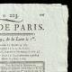 DÉTAILS  02 | Révolution Française - Journal de Paris - Mercredi 23 Juillet 1789 | La Liberté guidant le peuple (Eugène Delacroix)