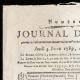 DÉTAILS  01 | Révolution Française - Journal de Paris - Jeudi 4 Juin 1789 | Calendrier Républicain - Germinal