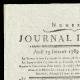 DETAILS  01 | French Revolution - Journal de Paris - Thursday, July 23, 1789 | The Storming of the Bastille - Arrest of M. de Launay (Jean Dubois)