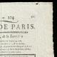 DETAILS  02 | French Revolution - Journal de Paris - Thursday, July 23, 1789 | The Storming of the Bastille - Arrest of M. de Launay (Jean Dubois)