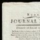 DETAILS  01 | French Revolution - Journal de Paris - Sunday, July 26, 1789 | The Storming of the Bastille - Arrest of M. de Launay (Jean Dubois)