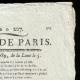 DETAILS  02 | French Revolution - Journal de Paris - Sunday, July 26, 1789 | The Storming of the Bastille - Arrest of M. de Launay (Jean Dubois)