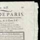 DETAILS  02 | French Revolution - Journal de Paris - Monday, July 27, 1789 | National Motto of France - Fraternity