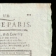 DETAILS  02   French Revolution - Journal de Paris - Tuesday, July 28, 1789   National Motto of France - Equality