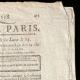 DETAILS  02   French Revolution - Journal de Paris - Wednesday, April 28, 1790   French Republican Calendar - Floréal