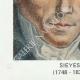 DÉTAILS  06   Sceau de cire - Révolution Française - 1795 - 11ème Demi-brigade d'Infanterie de ligne   Portrait de Emmanuel-Joseph Sieyès (1748-1836)