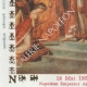 DETALJER  06 | Vax tätning - Napoleon I - 1805 - Gouvernement général des départements au-delà des Alpes (Italien Piemonte Turin) | Napoleons Kröning (Jacques-Louis David)