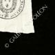 DÉTAILS  04   Cachet à encre -  - 1820 - Garde Royale Inspection aux Revues   Devise de la République Française - Liberté