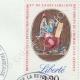 DÉTAILS  07   Cachet à encre -  - 1820 - Garde Royale Inspection aux Revues   Devise de la République Française - Liberté
