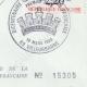 DÉTAILS  08   Cachet à encre -  - 1820 - Garde Royale Inspection aux Revues   Devise de la République Française - Liberté