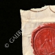 DETAILS  01 | Wax seal - French Revolution - 1793 - 92th Line Infantry Regiment | Portrait of La Tour d'Auvergne (1743-1800)