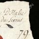 DÉTAILS  02   Sceau de cire - Révolution Française - 1796 - 79ème Demi-brigade d'Infanterie (Armée d'Italie - Division du Levant)   Portrait de Louis Antoine de Saint-Just (1767-1794)