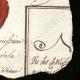 DÉTAILS  04   Sceau de cire - Révolution Française - 1796 - 79ème Demi-brigade d'Infanterie (Armée d'Italie - Division du Levant)   Portrait de Louis Antoine de Saint-Just (1767-1794)
