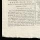 DÉTAILS  03 | Révolution Française - Journal de Paris - Mardi 11 Aout 1789 | Portrait de Louis Marie Marc Antoine de Noailles (1756-1804)