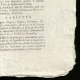 DÉTAILS  04 | Révolution Française - Journal de Paris - Mardi 11 Aout 1789 | Portrait de Louis Marie Marc Antoine de Noailles (1756-1804)