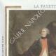 DETAILS  05 | Wax seal - French Revolution - 1794 - 26th Line Infantry Demi-brigade (Général Marceau) | Portrait of Gilbert du Motier de La Fayette (1757-1834)
