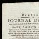 DETAILS  01 | French Revolution - Journal de Paris - Saturday, August 15, 1789 | General Augereau at the Pont d'Arcole (Charles Thévenin)
