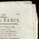 DETAILS  02 | French Revolution - Journal de Paris - Saturday, August 15, 1789 | General Augereau at the Pont d'Arcole (Charles Thévenin)
