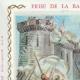 DÉTAILS  05 | Sceau de cire - Révolution Française - 1795 - 1er Bataillon du Département de Seine-et-Oise | Prise de la Bastille (14 Juillet 1789)