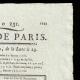 DETAILS  02   French Revolution - Journal de Paris - Wednesday, August 19, 1789   Portrait of Louis XVI of France ( Antoine-François Callet)