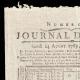 DETAILS  01 | French Revolution - Journal de Paris - Monday, August 24, 1789 | Portrait of singer Simon Chenard in sans-culotte costume (Louis Léopold Boilly)