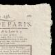 DETAILS  02 | French Revolution - Journal de Paris - Monday, August 24, 1789 | Portrait of singer Simon Chenard in sans-culotte costume (Louis Léopold Boilly)