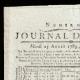 DÉTAILS  01 | Révolution Française - Journal de Paris - Mardi 25 Aout 1789 | Portrait de Napoléon Bonaparte, Premier Consul (Baron Antoine-Jean Gros)