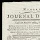 DETALLES  01 | Revolución Francesa - Journal de Paris - Jueves 27 de Agosto de 1789 | Retrato de Napoleón Bonaparte, Premier Consul (Jean Auguste Dominique Ingres)