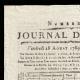 DETAILS  01   French Revolution - Journal de Paris - Friday, August 28, 1789   Portrait of Emmanuel-Joseph Sieyès (1748-1836)