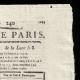 DETAILS  02   French Revolution - Journal de Paris - Friday, August 28, 1789   Portrait of Emmanuel-Joseph Sieyès (1748-1836)