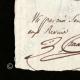 DÉTAILS  03   Cachet à encre - Révolution Française - 1794 - 12ème Demi-brigade d'Infanterie de Bataille   Portrait de Camille Desmoulins (1760-1794)