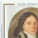 DÉTAILS  05   Cachet à encre - Révolution Française - 1794 - 12ème Demi-brigade d'Infanterie de Bataille   Portrait de Camille Desmoulins (1760-1794)
