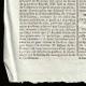 DÉTAILS  03 | Révolution Française - Journal de Paris - Jeudi 3 Septembre 1789 | Portrait de Louis Marie Marc Antoine de Noailles (1756-1804)