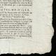 DÉTAILS  04 | Révolution Française - Journal de Paris - Jeudi 3 Septembre 1789 | Portrait de Louis Marie Marc Antoine de Noailles (1756-1804)