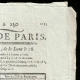 DETAILS  02   French Revolution - Journal de Paris - Monday, September 7, 1789   National Motto of France - Equality