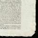 DETAILS  04   French Revolution - Journal de Paris - Monday, September 7, 1789   National Motto of France - Equality