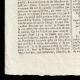 DETAILS  03   French Revolution - Journal de Paris - Tuesday, September 8, 1789   National Motto of France - Liberty