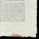 DETAILS  04 | French Revolution - Journal de Paris - Wednesday, September 9, 1789 | National Motto of France - Fraternity