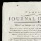 DETAILS  01 | French Revolution - Journal de Paris - Tuesday, September 22, 1789 | Portrait of Napoléon Bonaparte, Premier Consul (Baron Antoine-Jean Gros)