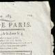 DETAILS  02 | French Revolution - Journal de Paris - Tuesday, September 22, 1789 | Portrait of Napoléon Bonaparte, Premier Consul (Baron Antoine-Jean Gros)
