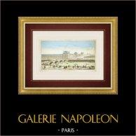 Guckkastenbild von Palais des Tuileries in Paris (Frankreich)