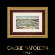 Guckkastenbild von Pont Neuf in Paris (Frankreich)