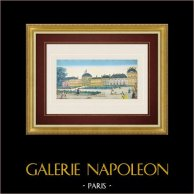 Vista óptica del Palacio de las Tullerías - Paris (Francia)
