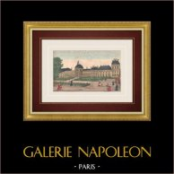 Optical view of Tuileries Palace in Paris (France)