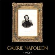 Porträt von Alphonse de Lamartine (1790-1869)